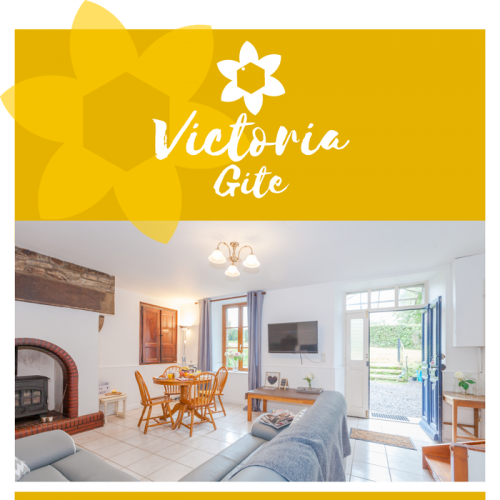 Discover our Victoria Gite - Sleeps six people - Percy - Normandy - France